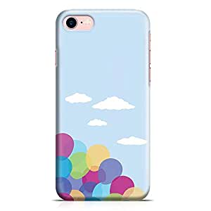 Loud Universe Movie Up Balloons Art iPhone 7 Cover with 3d Wrap around Edges