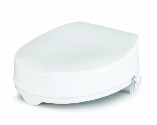 Patterson Homecraft Savanah Raised Toilet Seat with Lid, ...