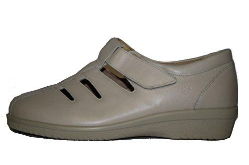 Ganter - Zapatos de Cordones Mujer Blanco - Blanc - porzelan