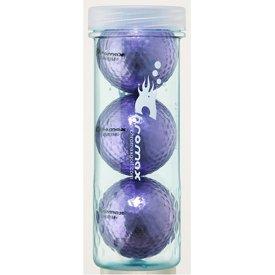 - ProActive Sports Chromax M1 Golf Ball Purple Shiny 3 Balls Sleeve