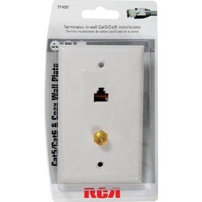 Price comparison product image RCA TPH557R Faceplate - White
