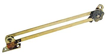 Amazon Com Lid Stay Adj Straight 7in Brass By Woodworkers Hardware