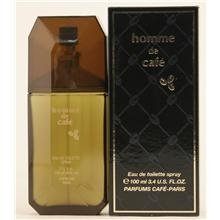 - Cafe Homme De Cafe - Edt Spray(Black Box) 3.4 Oz