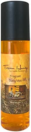 Camille Beckman Fragrant Body Mist, Alcohol Free, Tuscan Honey, 8 Ounce