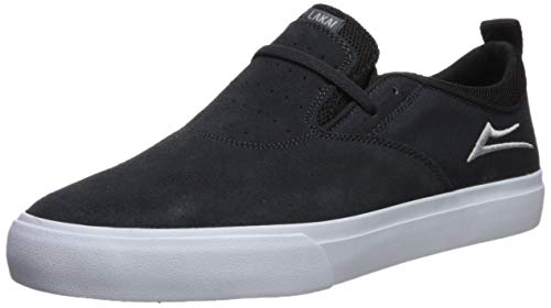Hawk Footwear - Lakai Men's Riley 2, Charcoal Suede 8.5 M US