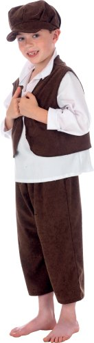Ernest the Urchin Costume for Kids 6-8 Years