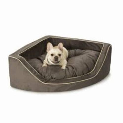 Amazon.com: Snoozer Lujo esquina mascota cama, tamaño ...
