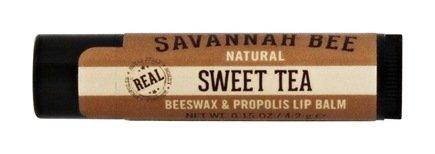 Savannah Bee Lip Balm (Sweet Tea 3 pack)