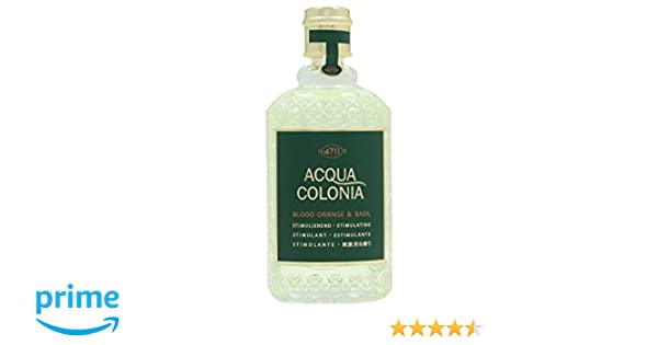 4711 Acqua Colonia Blood Orange & Basil Agua de Colonia Vaporizador - 170 ml: Amazon.es: Belleza