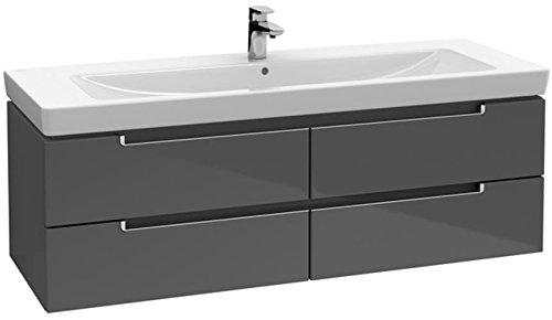 Villeroy & Boch Waschtischunterschrank Subway 2.0 A69110 1287x420x449 Weiß Matt, A69110MS
