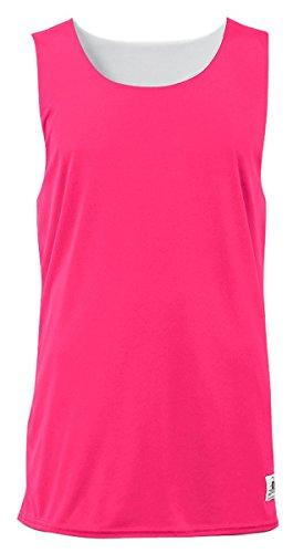 Ladies Reversible Tank Top - Badger Sport Women's B-Core Reversible Tank Tops Medium Hot Pink