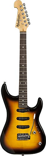 Washburn 6 String Solid-Body Electric Guitar, Tobacco Sunburst (S3XTS-A)