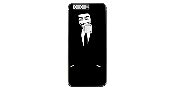 Amazon.com: Silicone Case for Anonymous Black Guy Huawei P10 ...