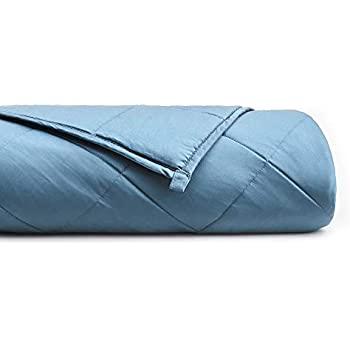 YnM Bamboo Weighted Blanket with 100% Pure Natural Bamboo Viscose   10 lbs for 70-100 lbs kids, 41