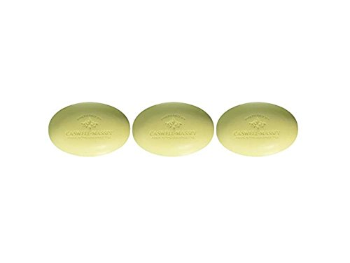 Caswell-Massey Verbena Bar Soap - Verbena Triple Milled Soap With A Fresh Citrus Scent -  3 Bars
