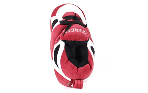 Happy Feet NCAA LICENSED College Oklahoma Slippers Womens OFFICIALLY Men's Sooners and Sneaker qOwxrq76Bn