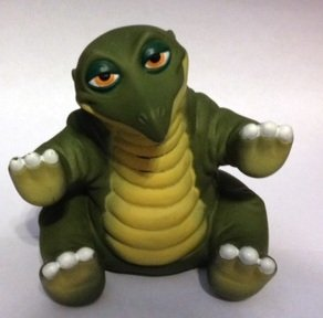 1988 Pizza Hut Land Before Time Spike Puppet (The Land Before Time Puppets)