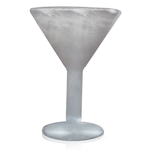 Freeze Glass FGMTN2014 Martini Glass, 7.6-Ounce, Clear by Freeze Glass