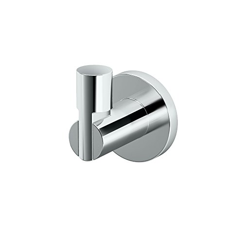 Gatco 4685 Channel Single Robe Hook, Chrome by Gatco