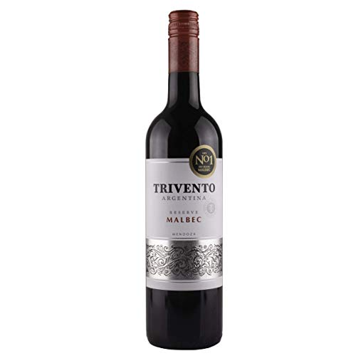 Trivento Reserve Malbec 2018 Wine, 75 cl (Case of 6)