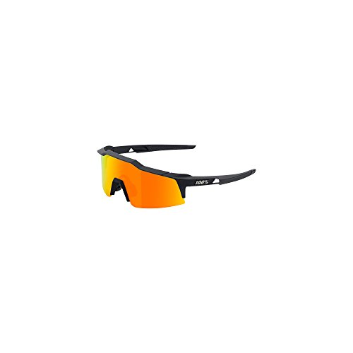 100% Unisex-Adult Speedlab (61002-100-43) Speedcraft SL-Soft Tact Black-HiPER Red Multilayer Mirror Lens, Free ()