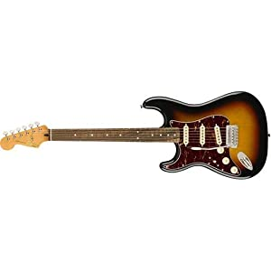 Squier by Fender Classic Vibe Stratocaster '60's Beginner Electric Guitar – Left Hand – 3 Color Sunburst