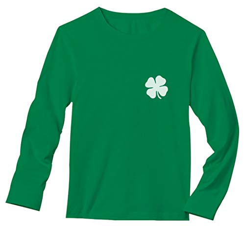 Irish Shamrock Pocket Size Clover St. Patrick's Day Long Sleeve T-Shirt