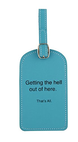 Santa Barbara Design Studio That's All Luggage Tag,