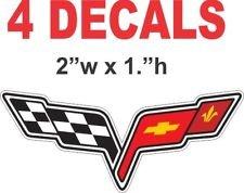 C4 C5 C6 C7 Corvette 1984-2014+ Center Cap Decal Logos C6 - Menu C4