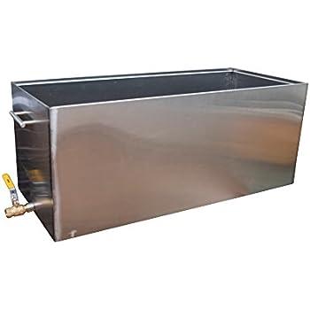 Amazon.com: Lona de baño de agua de 15 litros para estufa ...