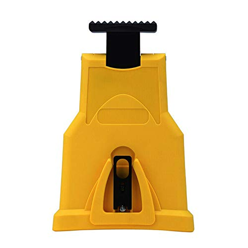 Chainsaw Sharpener Bar-Mount Chainsaw Chain Sharpener Kit Portable Chain Saw Sharpening System Fast-Sharpening Stone for Saw Chain Woodworking Tools