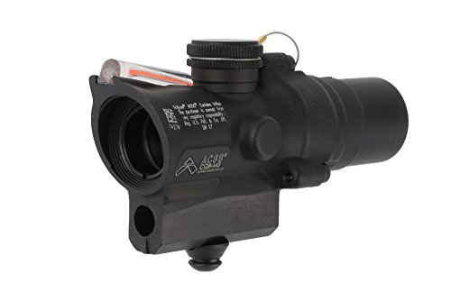 Trijicon ACOG 1.5x16s High Compact Scope with Dual Illuminated ACSS CQB-M5 Reticle - Red Illumination (Best Affordable Ar 15 Red Dot)