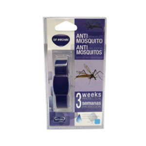 ALZOO Dr. Rechell Anti-Mosquito Bracelet (1-Pack, Black)