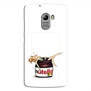 Cover It Up Nutty Love Hard Case For Lenovo K4 Note, Multi Color