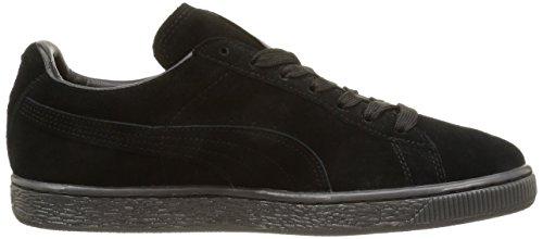 Sneaker Classico In Pelle Scamosciata Puma + Sneaker Mono Uomo Nero 360231 04 Black-team Gold