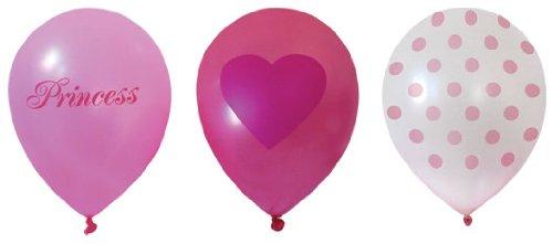 Paper Eskimo 18-Pack Princess Girl Balloons -