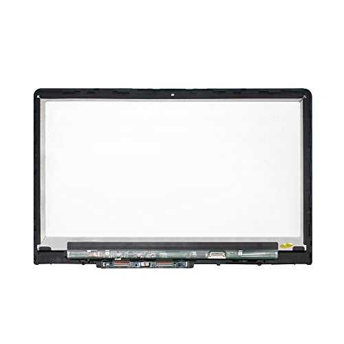 LCDOLED 15.6'' FullHD IPS LCD Display Touch Screen Digitizer Assembly + Bezel For HP Pavilion x360 15-br000 15-br100 15g-br000 15g-br100 15-br010nr 15-br077nr 15-br077cl 15-br095ms With ControlBoard by LCDOLED (Image #1)