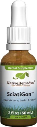 Native Remedies SciatiGon-S, Herbal supplement for sciatic nerve comfort