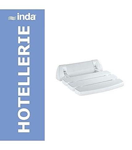 Sedile Doccia Ribaltabile Inda.Inda Hotellerie Sedile Ribaltabile Per Doccia 35x34 Bianco A0436a