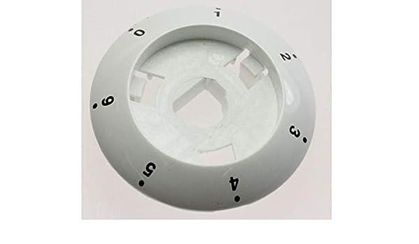 Corona mando cocina Fagor electrico 7p blanco: Amazon.es ...