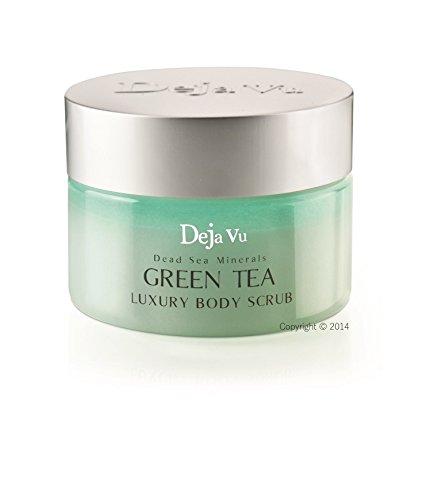 Green Spa Tea Nail - Deja Vu Dead Sea Minerals GREEN TEA Luxury Body Scrub - 250ml 8.5oz.