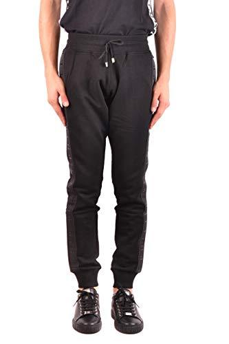 d44281e3fe2 Buy Philipp Plein Men's Mjt0709pjo002n02 Black Cotton Joggers ...