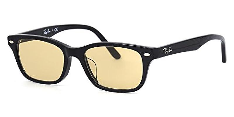 【레이밴 국내 정규품 판매 인정점】 레이밴 안경 프레임 RX5345D 2000 53사이즈 라이트 컬러 렌즈 세트 썬글라스 안심 자외선 컷부 흑인연 Ray-Ban LIGHT COLORS 라이트 옐로우