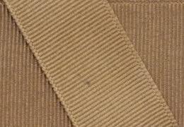Grosgrain Ribbon 3/8 Inch 50 Yards (Khaki Ribbon)