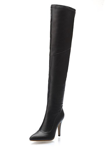 Xzz Eu39 Zapatos 5 Stiletto Trabajo Botas 5 Semicuero us6 Uk6 Tacón 5 Vestido Negro Red De Mujer Oficina Eu37 Puntiagudos Cn37 Cn39 7 Y Fiesta Rojo Noche Black Casual Uk4 us8 rrHdfq
