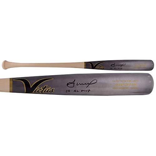 "Jose Altuve Houston Astros Autographed Victus Game Model Bat with""17 AL MVP"" Inscription - Fanatics Authentic Certified from Sports Memorabilia"
