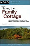 img - for Saving the Family Cottage 3th (third) edition Text Only book / textbook / text book
