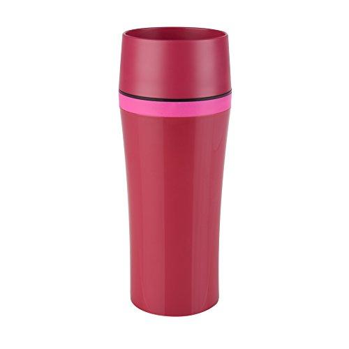 "Emsa Thermo Mug""Travel Mug Fun"" 12.2 fl oz In Raspberry/Pink,"