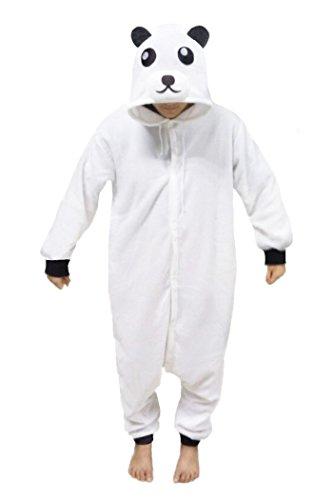 WOTOGOLD Animal Cosplay Costume Polar Bear Unisex Adult Pajamas White (Adult Polar Bear Costume)