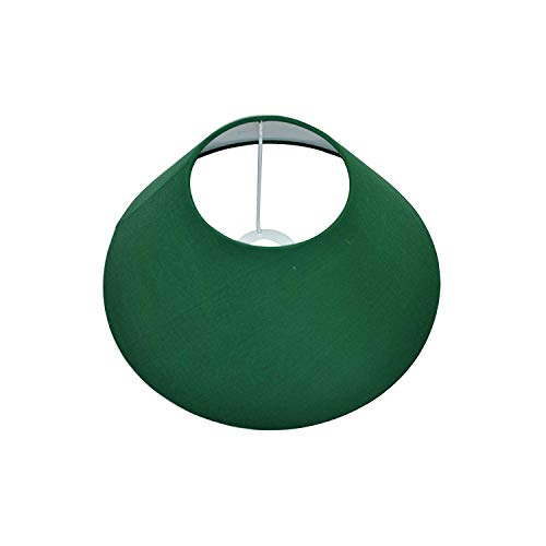 Home Sake Classic Green Cone Cotton Shade/Lamp Shade Set of 2 (for E27, E14 and B-22 Base), Home Decor